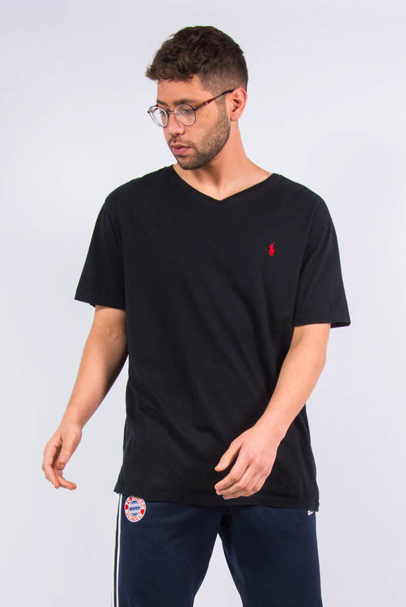 Ralph Lauren black v-neck t-shirt