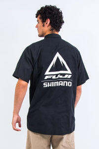 Vintage Fuji Shimano USA Work Shirt