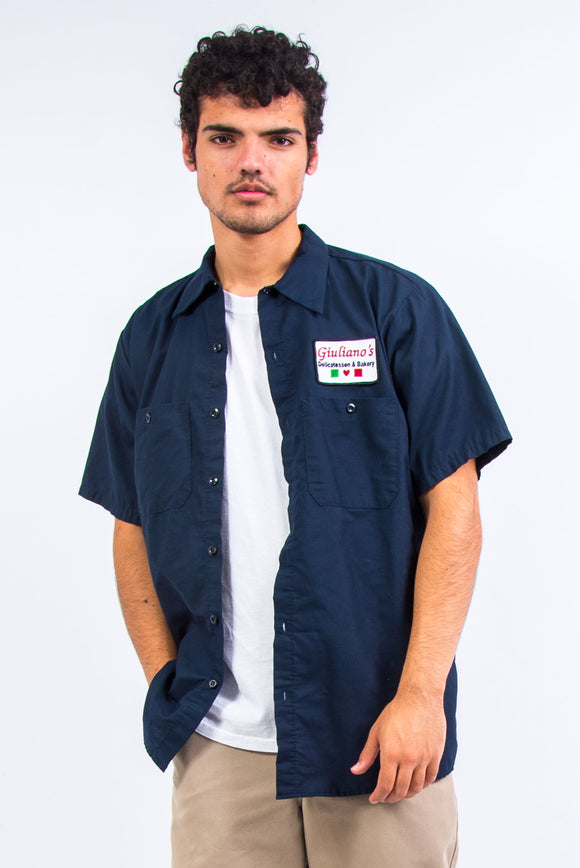 Vintage Giuliano's Bakery USA Work Shirt
