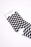 Checker Board Skater Socks