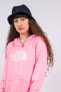 The North Face Vintage Pink Hoodie Sweatshirt