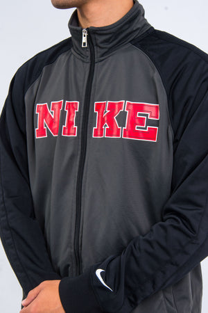 00's Nike Spell Out Track Top