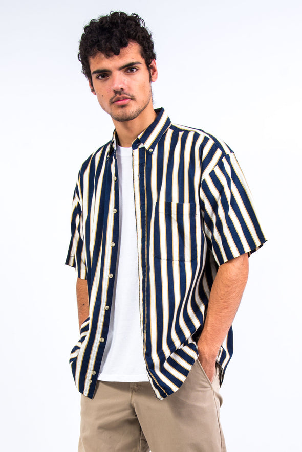 90's Short Sleeve Stripe Shirt