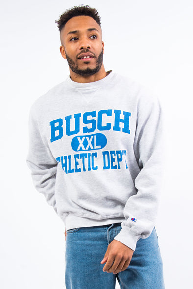 90's Champion Grey College Sweatshirt