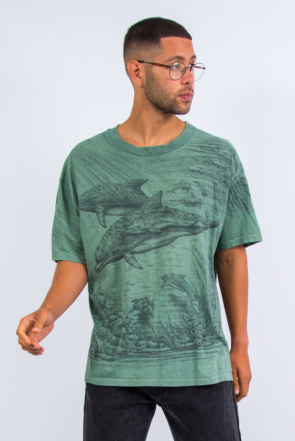Vintage St Petes Beach Florida t-shirt with ocean sea life print