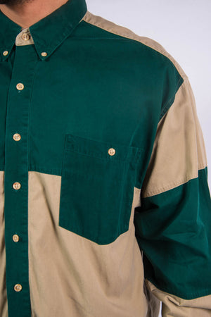 Vintage USA Colour Block Rodeo Ranch Shirt