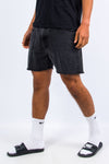 Levi's 505 Black Denim Shorts