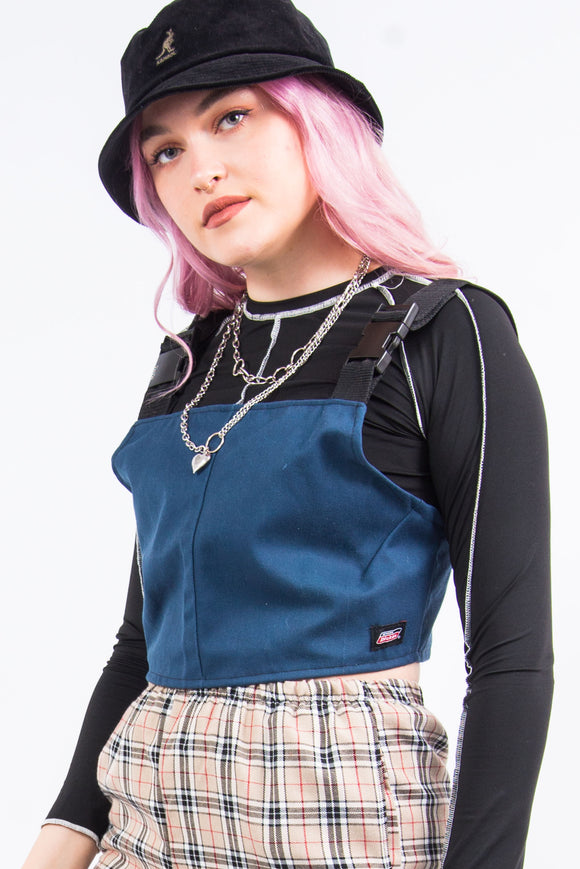 Rework Dickies Buckle Strap Top