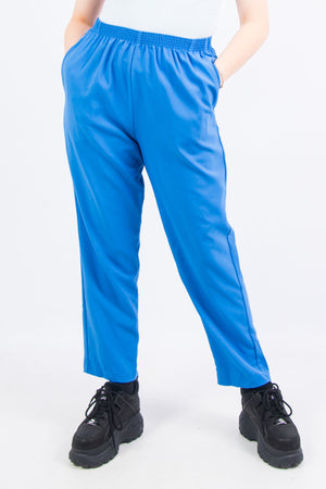 Vintage 90's Blue High Waist Trousers