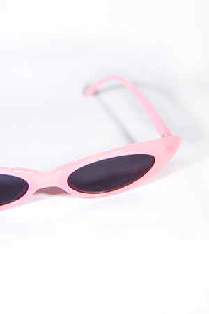 Y2K Skinny Blaire Pink Sunglasses