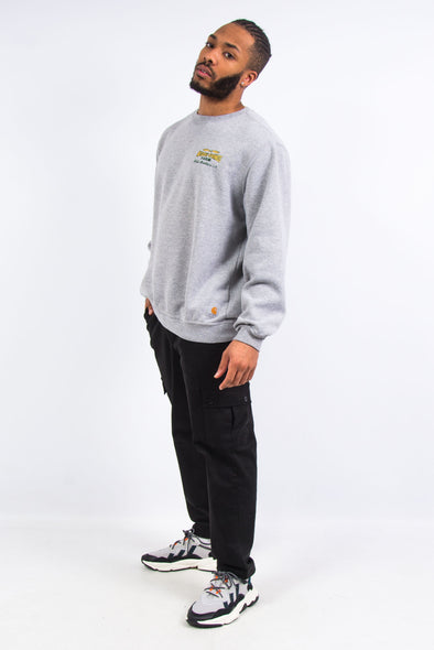 Carharrt Grey USA Work Sweatshirt