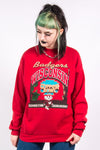 Vintage 90's Red Wisconsin Badgers Sweatshirt