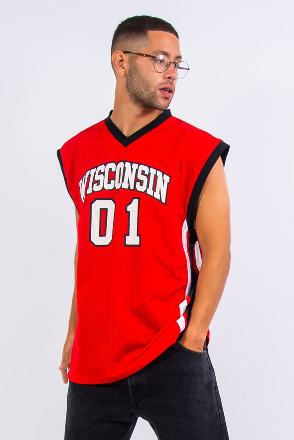 Starter Wisconsin Badgers College Basketball Jersey