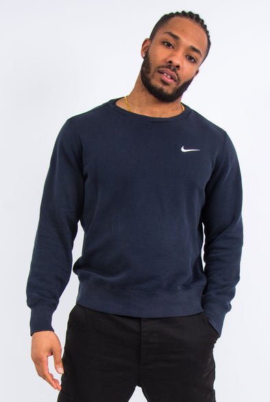 Y2K Nike Navy Blue Sweatshirt
