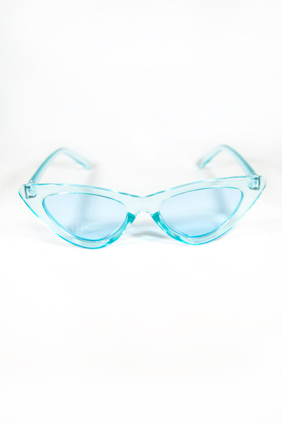 Dionne Y2K Sunglasses - Blue