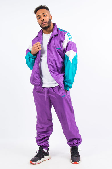 90's Adidas Shell Full Tracksuit