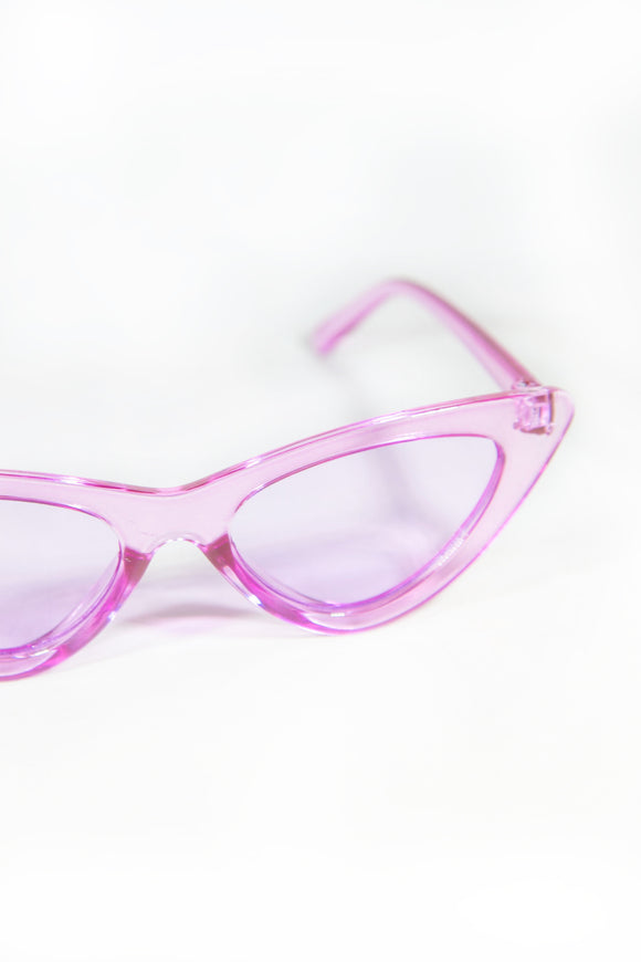 Dionne Y2K Sunglasses - Pink