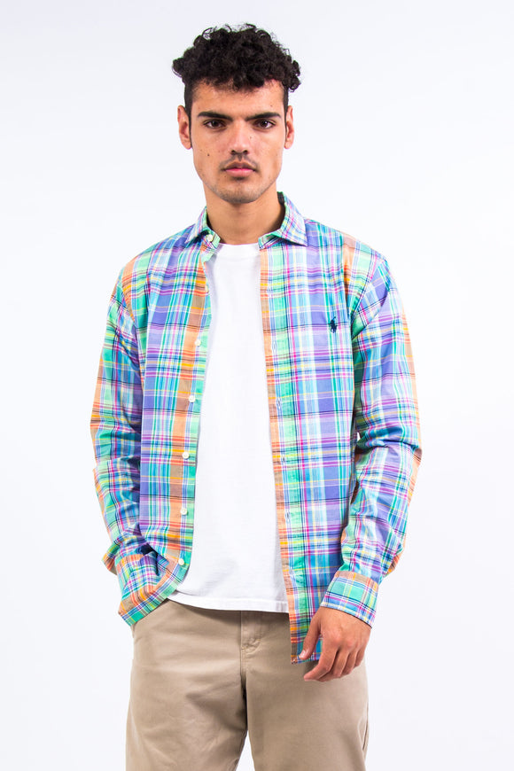 Ralph Lauren Rainbow Check Shirt