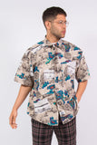 Dockers Crazy Retro Pattern Short Sleeve Shirt