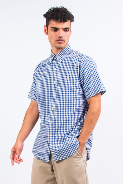 Ralph Lauren Blue Gingham Check Shirt