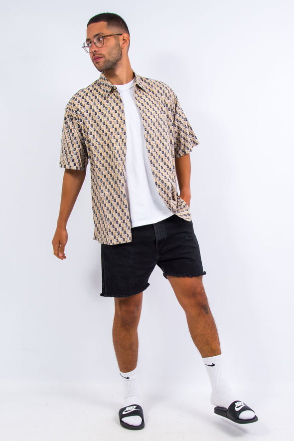 Vintage 90's Abstract Vacation Shirt