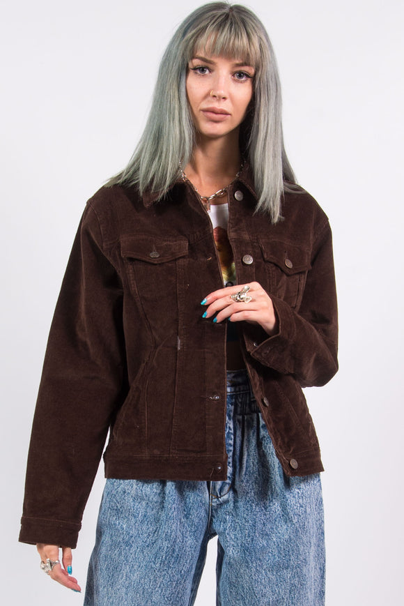 Vintage 90's Brown Corduroy Jacket