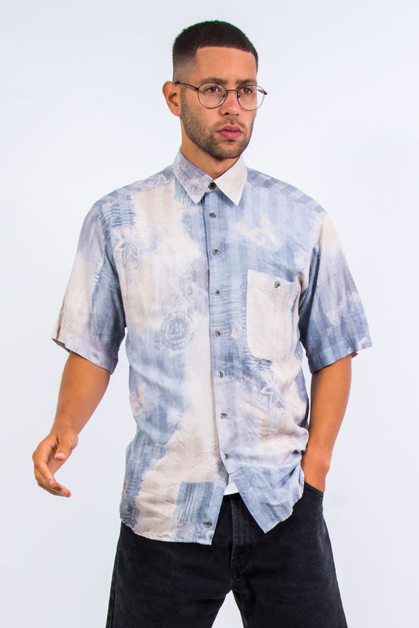 90's Vintage Patterned Shirt
