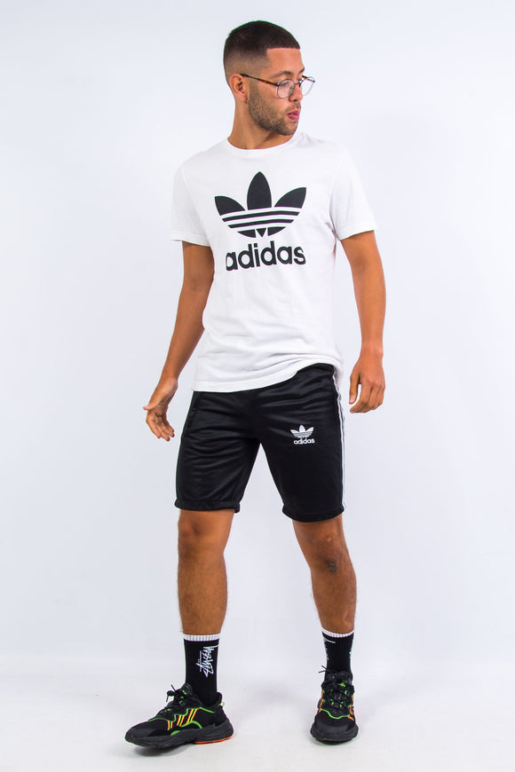 Black Adidas Firebird Shorts
