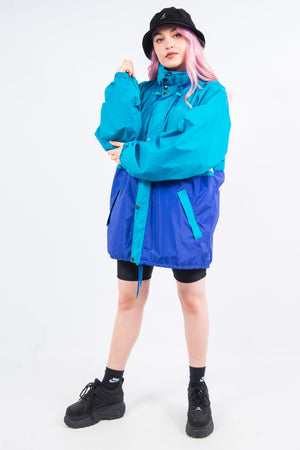 Vintage 90's K-Way Windbreaker Jacket