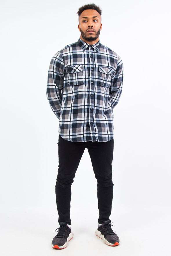 Vintage Check Flannel Shirt