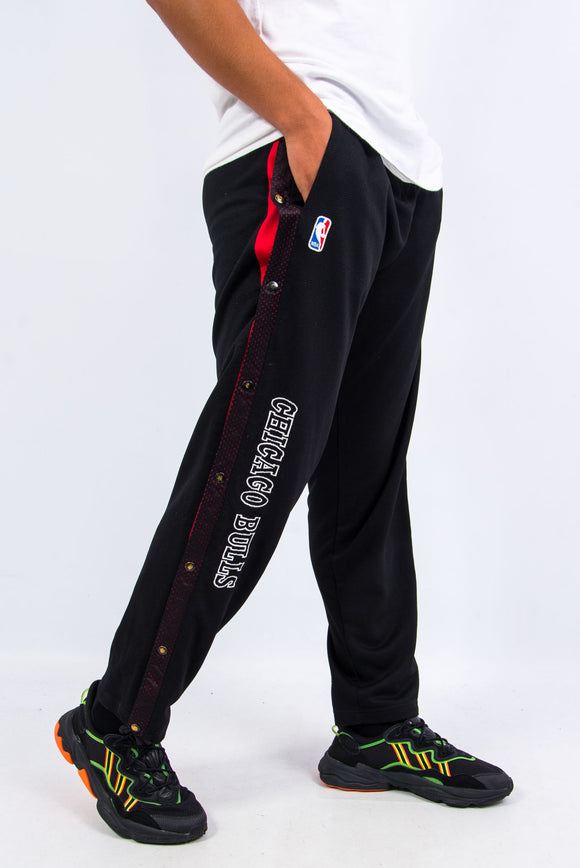 90's Champion Chicago Bulls Popper Track Pants