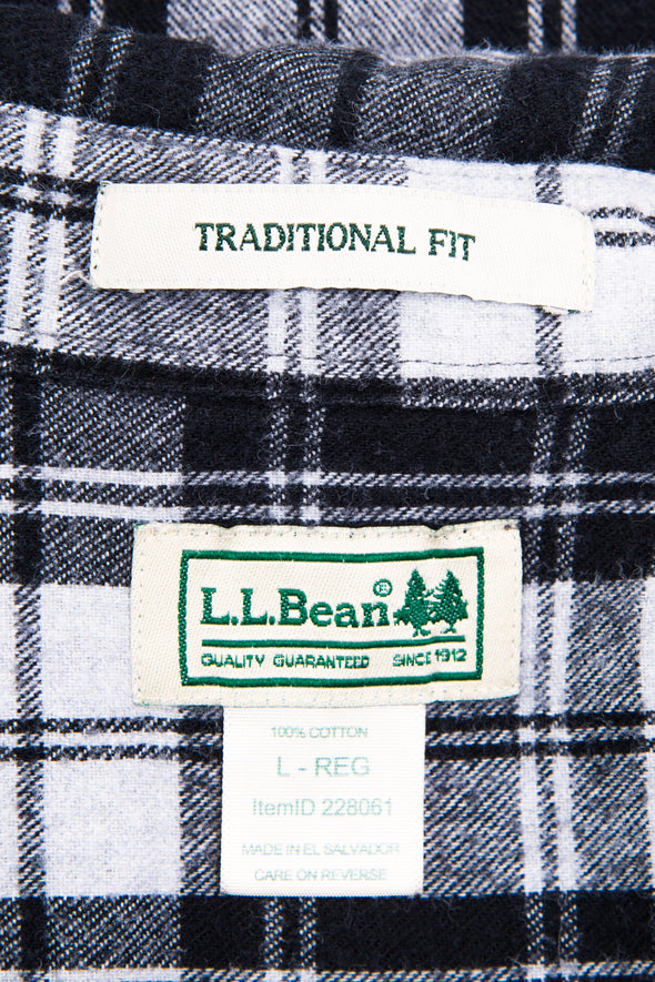 Vintage L.L. Bean Check Flannel Shirt