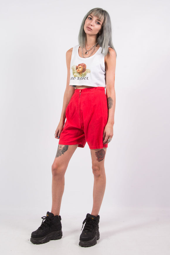 Vintage 90's Red Mom Shorts