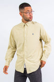 Vintage Ralph Lauren Yellow Check Shirt