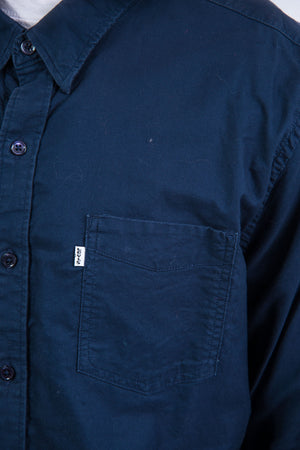 Levi's Navy Blue Shirt