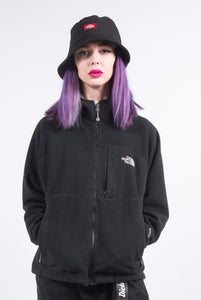 Vintage 90's The North Face Hooded Fleece Jacket
