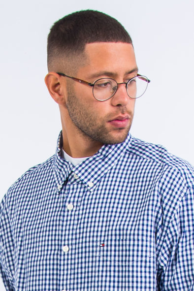 Tommy Hilfiger Blue Gingham Check Shirt