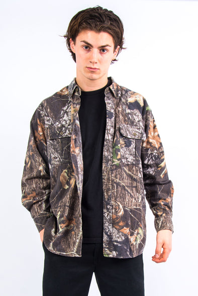 USA Woodland Print Camo Shirt