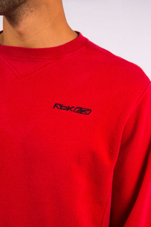 Reebok Red Logo Sweatshirt