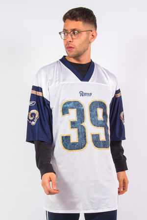 Los Angeles Rams NFL American football jersey with #39 Steven Jackson on the back