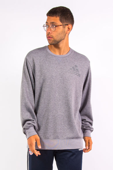 Adidas Grey Sports Sweatshirt