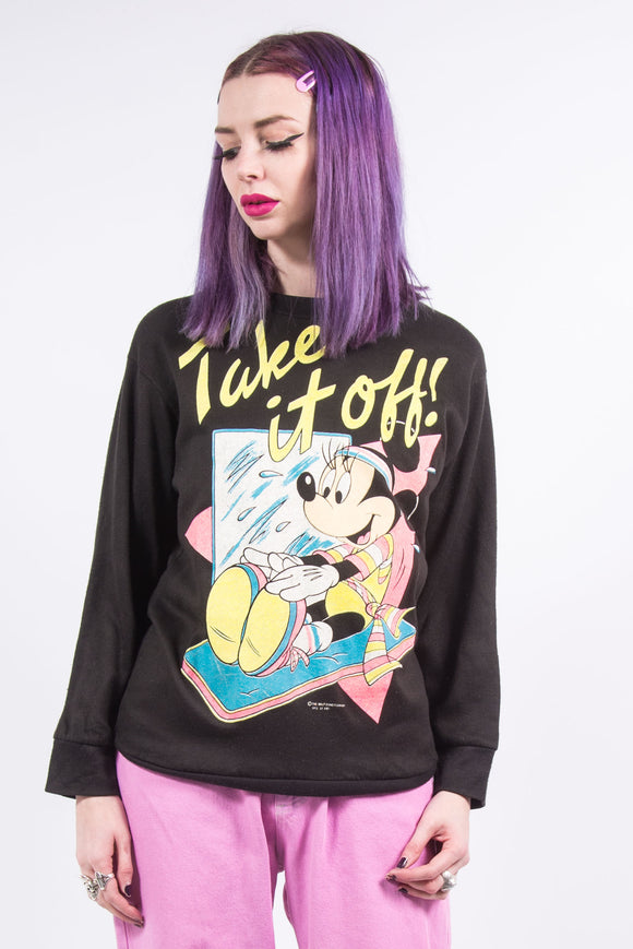 Vintage 80's Disney Minnie Mouse Sweatshirt