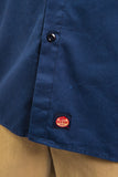 Vintage Red Kap Blue USA Work Shirt