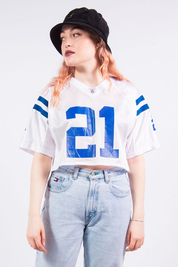Vintage Indianapolis Colts NFL Cropped Jersey Top