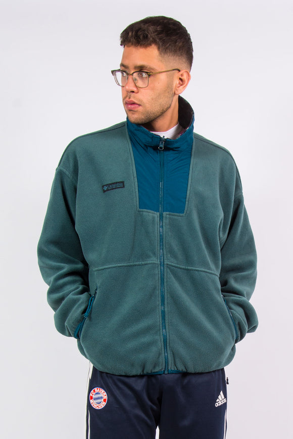 Vintage 90's Columbia Zip Fasten Fleece