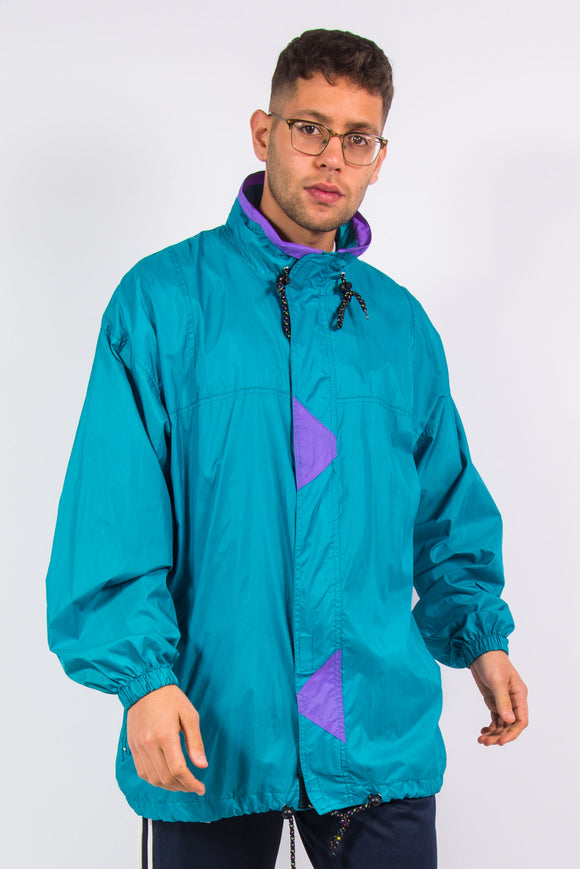 Vintage Waterproof Cagoule Rain Jacket