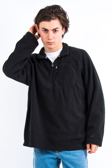 Black Starter 1/4 Zip Fleece