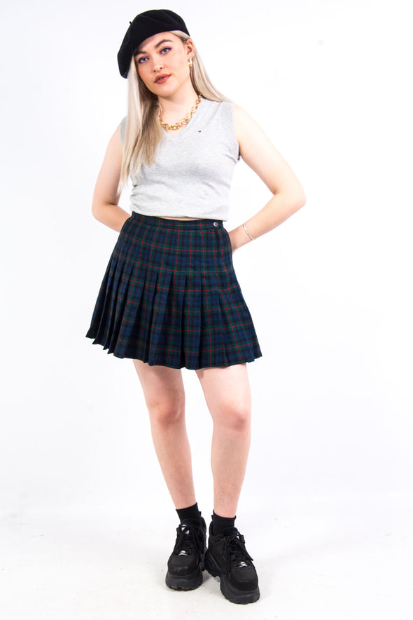Vintage Pendleton Tartan Mini Skirt