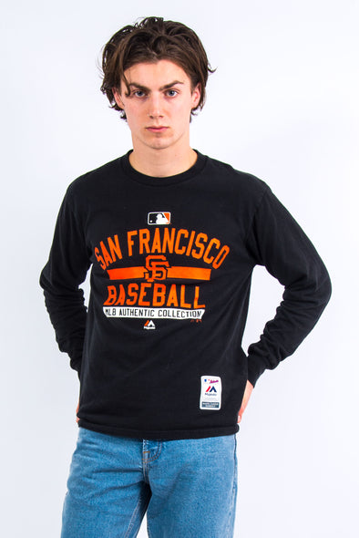 San Francisco Giants Baseball Long Sleeve T-Shirt