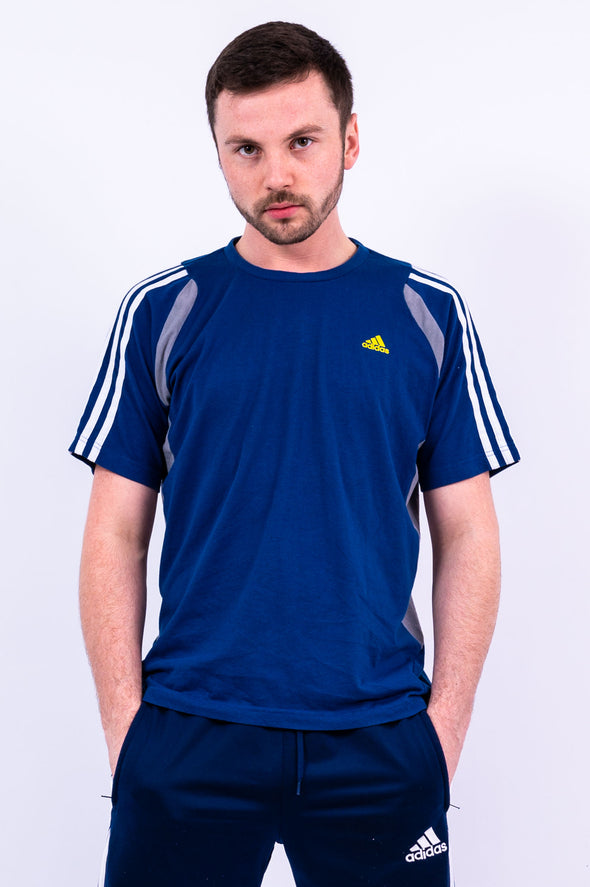 00's Adidas Three Stripe T-Shirt